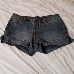 Medium Blue Wash Denim Shorts 9/10 Jou Jou